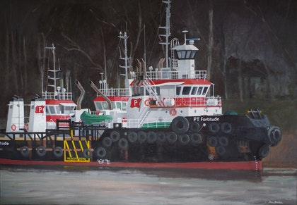 Redland Tugs at Murrarie