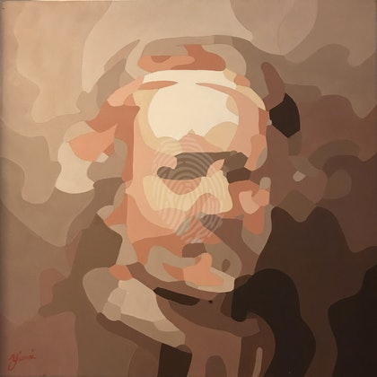 Rembrandt on iPhone camera.