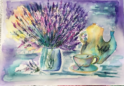 Tea and Lavender
