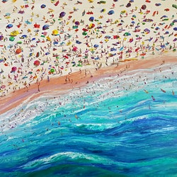 Beach day donna gibb bluethumb art 92e6