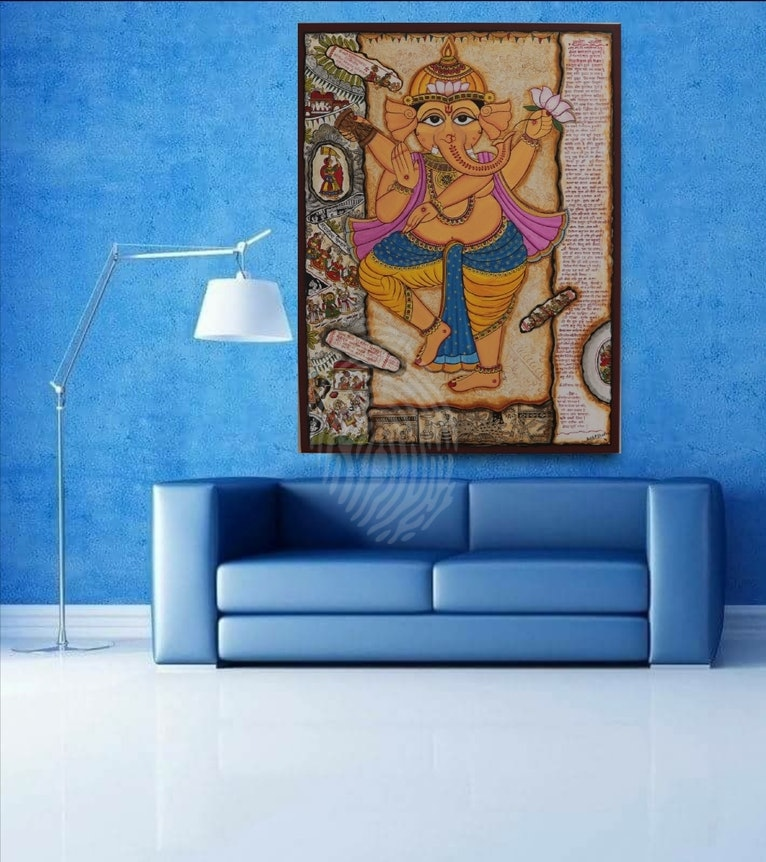 Vintage Ganapati : Remover of obstacles Christmas sale