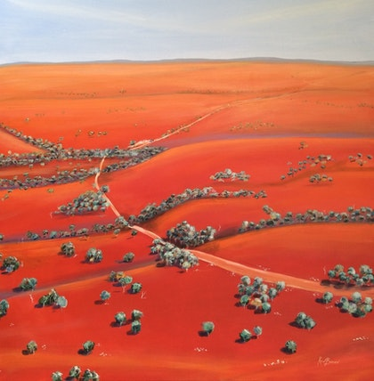 Red centre landscape