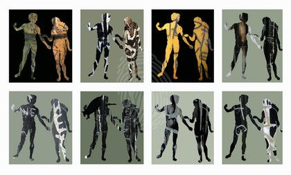 The First Lovers – set of 8 prints