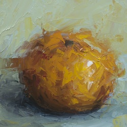 Still life orange damien venditti bluethumb art 76ac