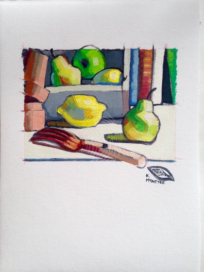 Potting shed still life II