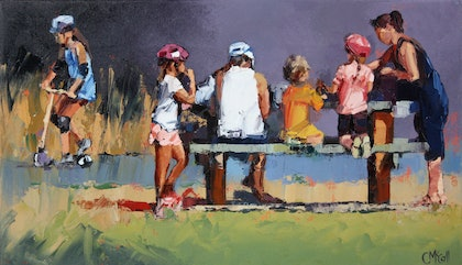 Picnic Lunch - Limited Edition Giclee Art Print   Ed. 1 of 100