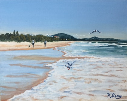 Mount Coolum Beach View - NOW WITH READY MADE FRAME