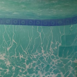 Poolside series no 2 we are but patterns and light pip phelps bluethumb art b710