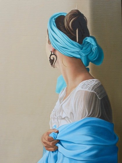The Girl With the Wooden Earring