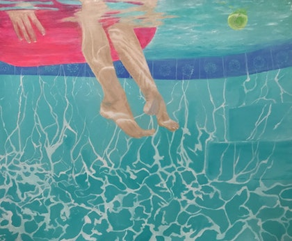 Poolside Series No. 4 'Floating on a Dream'