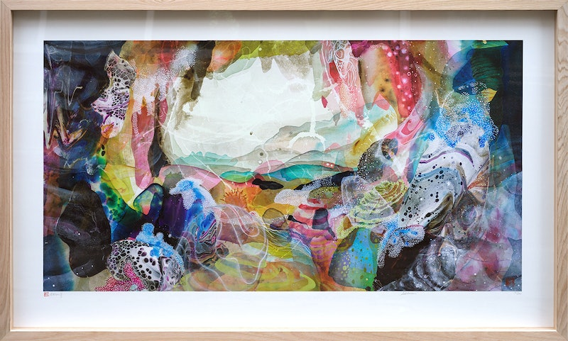 Subterrain LIMITED EDITION PRINT - framed  Ed. 13 of 250