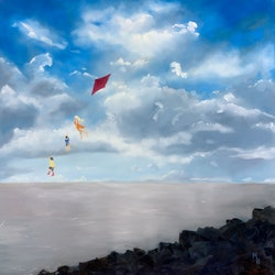 Fly a kite with me meredith howse bluethumb art c2b1