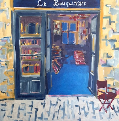Le Bouquiniste: Open for poetry, crime, romance