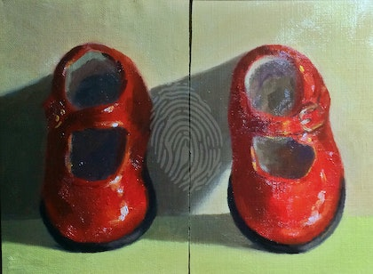 My Little Red Shoes - Diptych