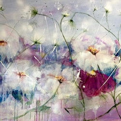 Let me count the ways 92x61x3 ready to hang canvas louise croese bluethumb art 27da