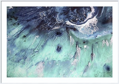 ABSTRACT  Seascape Wave  AUSTRALIA OCEAN ABSTRACT SEASCAPE - GREEN POOL ( AUSTRALIA, OCEAN, SEA, WATER resin SEASCAPE PAINTING )  Ed. 2 of 10