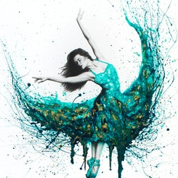 Chrysocolla dance ashvin harrison bluethumb art 113e