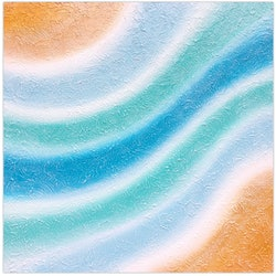 Abstract coastal waters miranda lloyd bluethumb art a0b0
