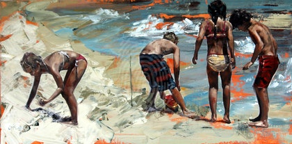 Summer Days II - Limited Edition Giclee Art Print  Ed. 7 of 100