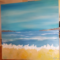 La playa azul ana corral kelly bluethumb art bcd4