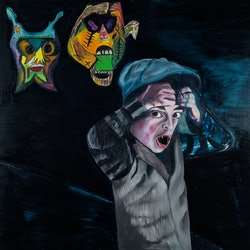 Sometimes in dark places i think there are monsters silvia a sellitto bluethumb art be64