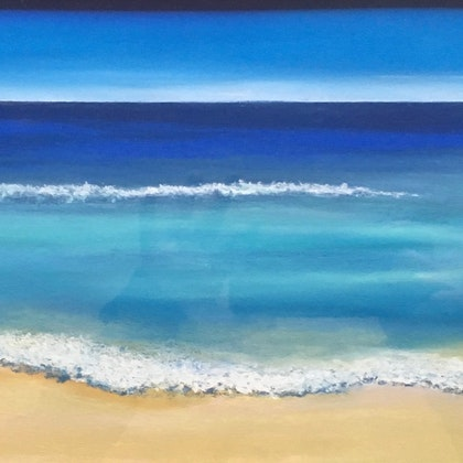 City Beach 56x33cm