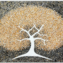 Tree golden blossom miranda lloyd bluethumb art 1379