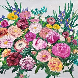 Bouquet of love donna gibb bluethumb art be20
