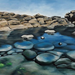 Low tide at cape schank maria radun bluethumb art 8187