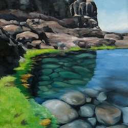 Coastal reflections at cape schank maria radun bluethumb art bc05