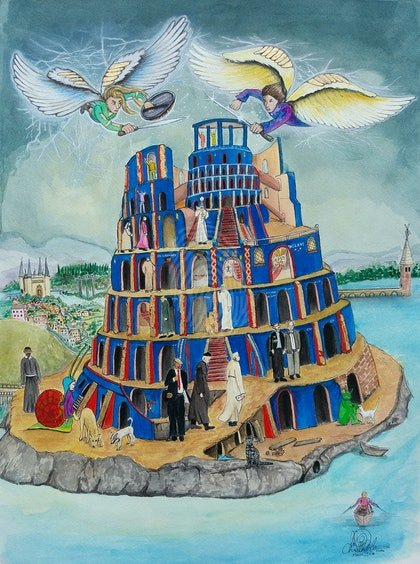 Walking the Tower of Babel  Ed. 5 of 30