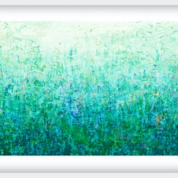 The first garden in white frame george hall bluethumb art c4fe