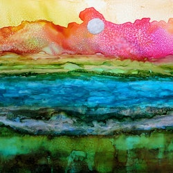 Manning coastline at dawn ruth brunner bluethumb art fd51