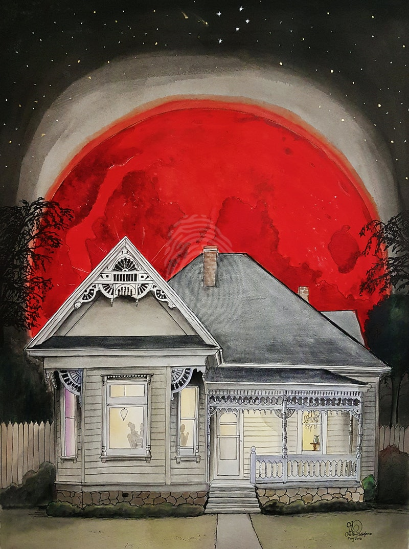 Blood Red Moon Ed. 2 of 25