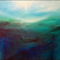 Dawn large scale 1 5 meter wide kat las bluethumb art 52d3