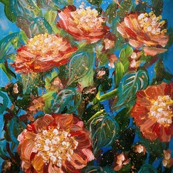 Let life be beautiful like winter camellia limited edition giclee print copy h lin bluethumb art 9c7e