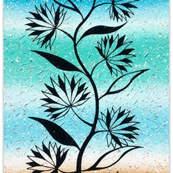 Flowers abstract coastal special miranda lloyd bluethumb art f96d