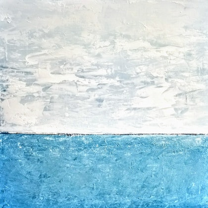 Beyond Blue(abstract Landscape)