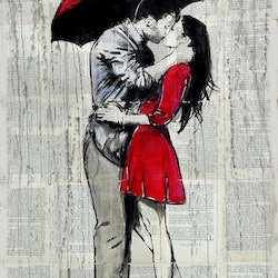 Red rainy love loui jover bluethumb art 89ab