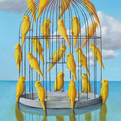 Free Birds - Limited Edition Print Ed. 4 of 250