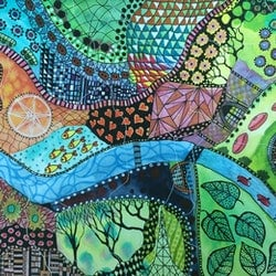 I will raise you from your sleep an ode to melbourne jude willis bluethumb art 50c7