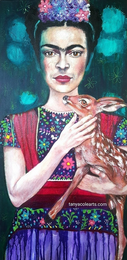 Frida's Grace Limited Edition Large Giclee Fine Art Print