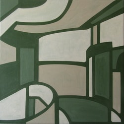 Hallway and stairs claudia claveria bluethumb art af93