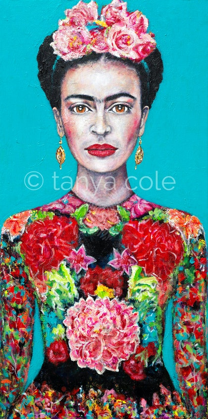 Frida's Courage Limited Edition Large Giclee Fine Art Print