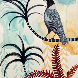 Alice street magpie sally browne bluethumb art f326