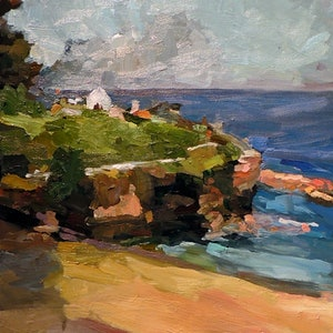 Coogee beach ray saunderson bluethumb art 61aa