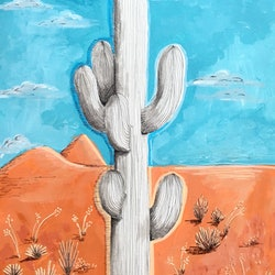 Deserted cacti adelin hill bluethumb art 54c4