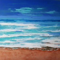 Seascape in the abstract 2 julie hollis bluethumb art ecaf