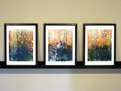 Spring is in the air (Triptych)
