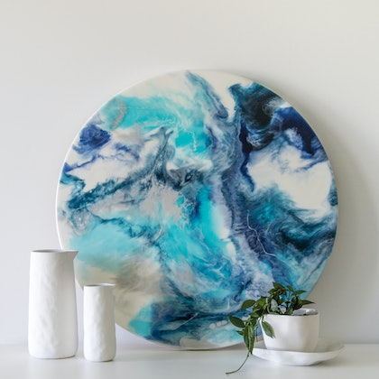 ICEBERGS - Resin Artwork